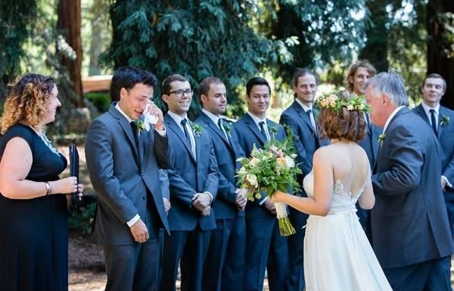 Rustic Redwood Forest Wedding {Rebekah Dotson Photography} 8