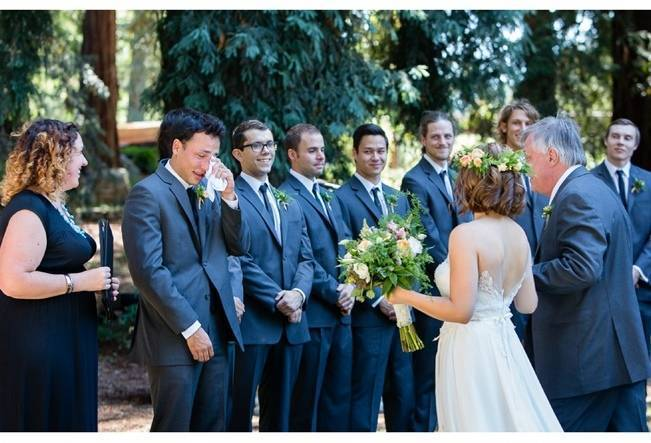 Rustic Redwood Forest Wedding {Rebekah Dotson Photography} 8