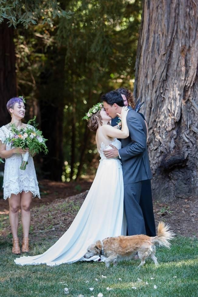 Rustic Redwood Forest Wedding {Rebekah Dotson Photography} 9