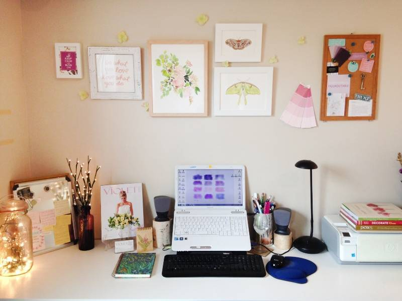 5 Tips on Productivity from the Desk of Sweet Violet Bride