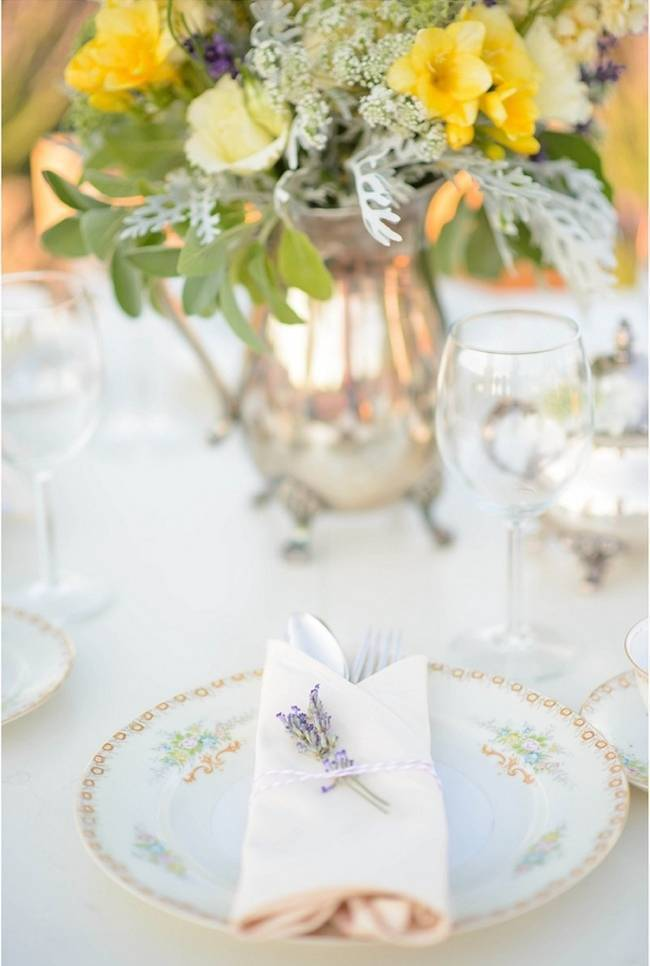 Upcycled Vintage Lavender + Lemon Styled Shoot {Katrina Amburgey Photography} 7