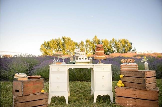 Upcycled Vintage Lavender + Lemon Styled Shoot {Katrina Amburgey Photography} 9