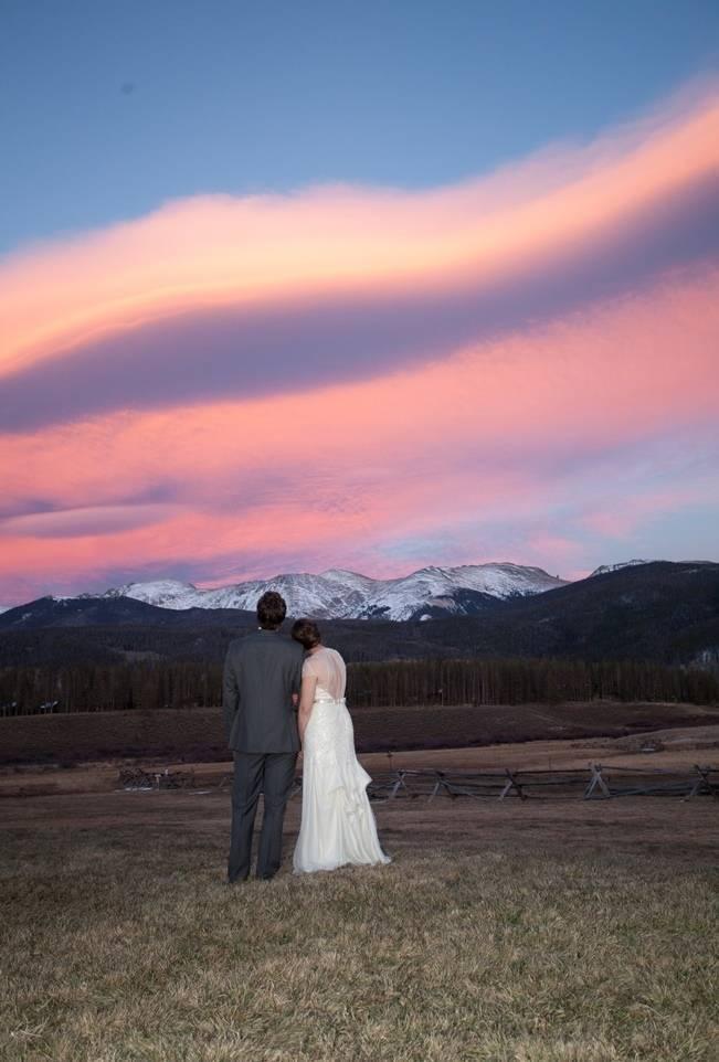Woodsy Colorado Mountain Wedding {Karen High Photography} 23