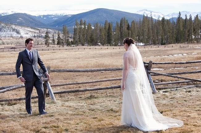 Woodsy Colorado Mountain Wedding {Karen High Photography} 5