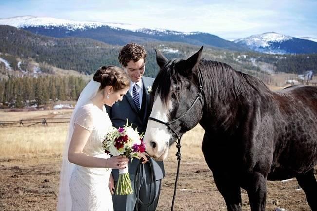 Woodsy Colorado Mountain Wedding {Karen High Photography} 7