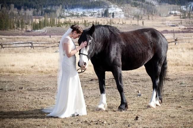 Woodsy Colorado Mountain Wedding {Karen High Photography} 8