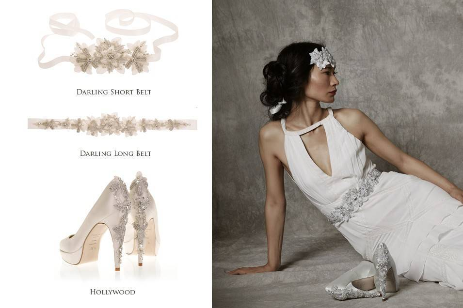 Freya Rose 2015 Bridal Darling Belt