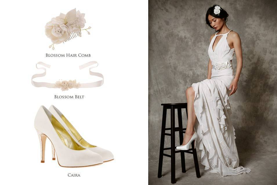 Freya Rose 2015 Blossom Belt Caira Shoes
