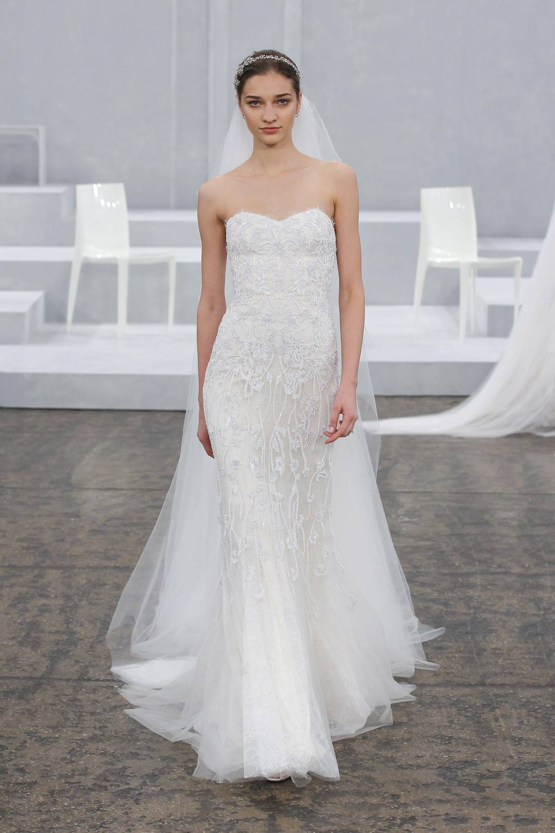 Monique Lhuillier Spring / Summer 2015 Bridal Collection