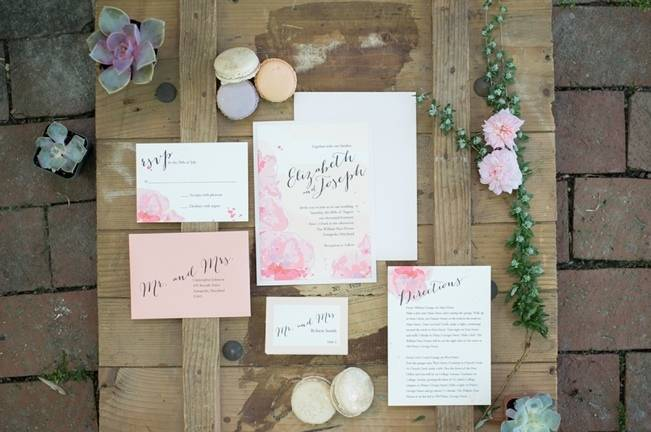 Cliffside Garden Styled Wedding {Joy Michelle Photography} 1