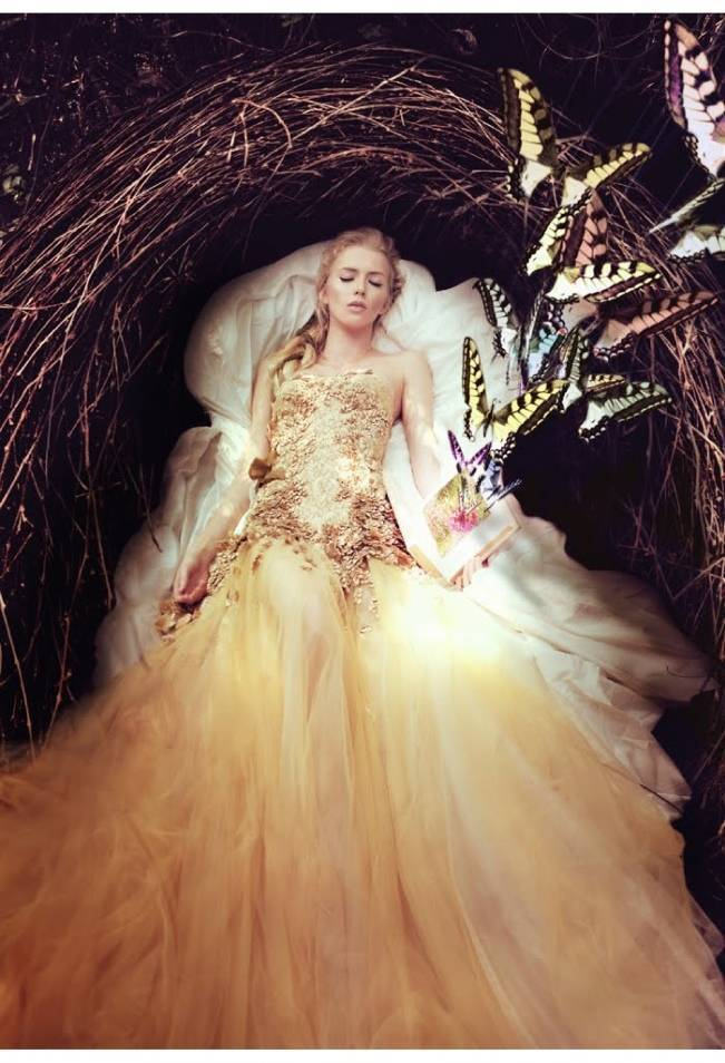 Gold Wedding Dress Inspiration 4
