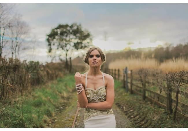 Gold Wedding Dress Inspiration 6