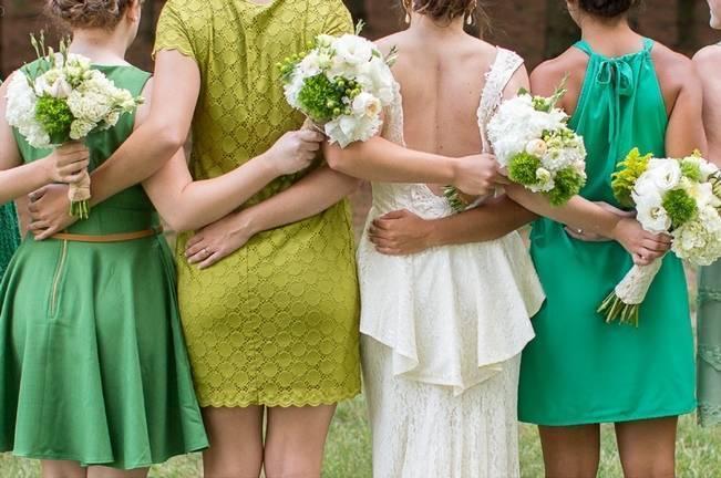 Green DIY Outdoor Virginia Wedding {Gayle Driver Photography} 1