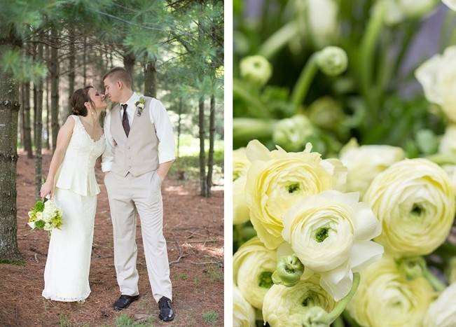 Green DIY Outdoor Virginia Wedding {Gayle Driver Photography} 10