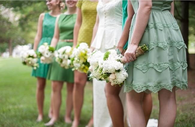 Green DIY Outdoor Virginia Wedding {Gayle Driver Photography} 11