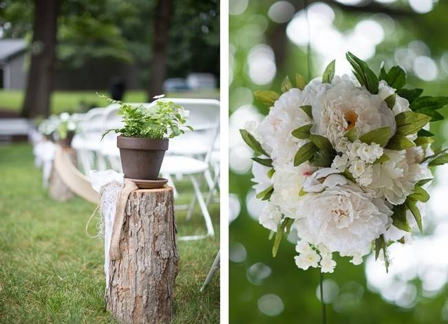 Green DIY Outdoor Virginia Wedding {Gayle Driver Photography} 13