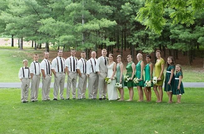 Green DIY Outdoor Virginia Wedding {Gayle Driver Photography} 15