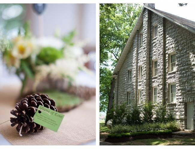 Green DIY Outdoor Virginia Wedding {Gayle Driver Photography} 16