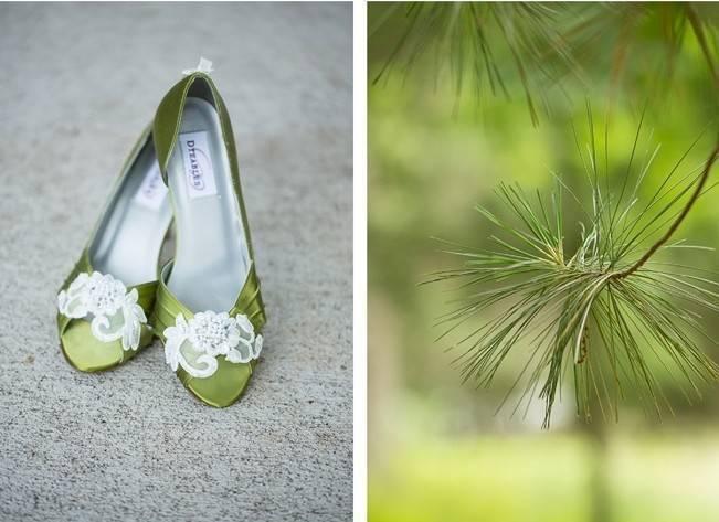 Green DIY Outdoor Virginia Wedding {Gayle Driver Photography} 2