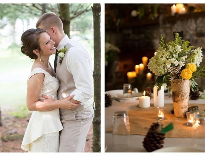 Green DIY Outdoor Virginia Wedding {Gayle Driver Photography} 20