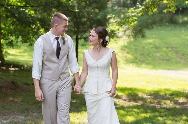 Green DIY Outdoor Virginia Wedding {Gayle Driver Photography} 24