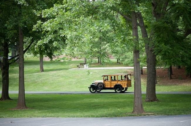 Green DIY Outdoor Virginia Wedding {Gayle Driver Photography} 25