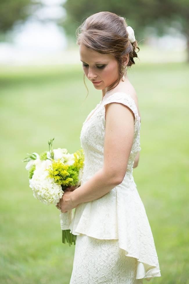 Green DIY Outdoor Virginia Wedding {Gayle Driver Photography} 3