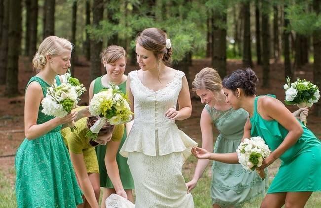 Green DIY Outdoor Virginia Wedding {Gayle Driver Photography} 5