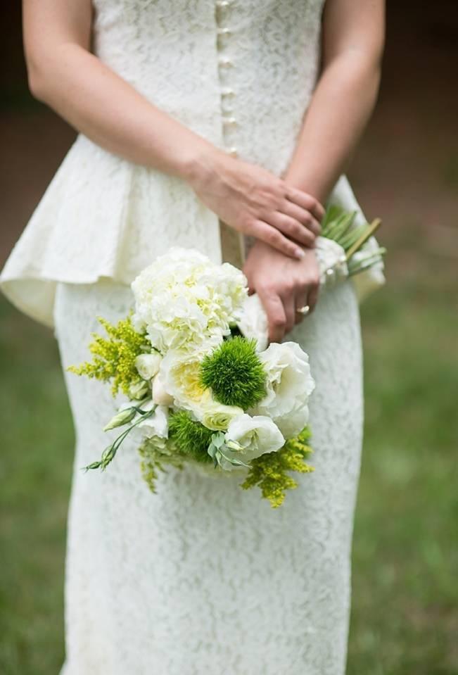 Green DIY Outdoor Virginia Wedding {Gayle Driver Photography} 6