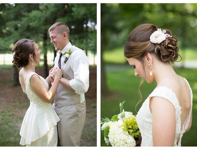 Green DIY Outdoor Virginia Wedding {Gayle Driver Photography} 8