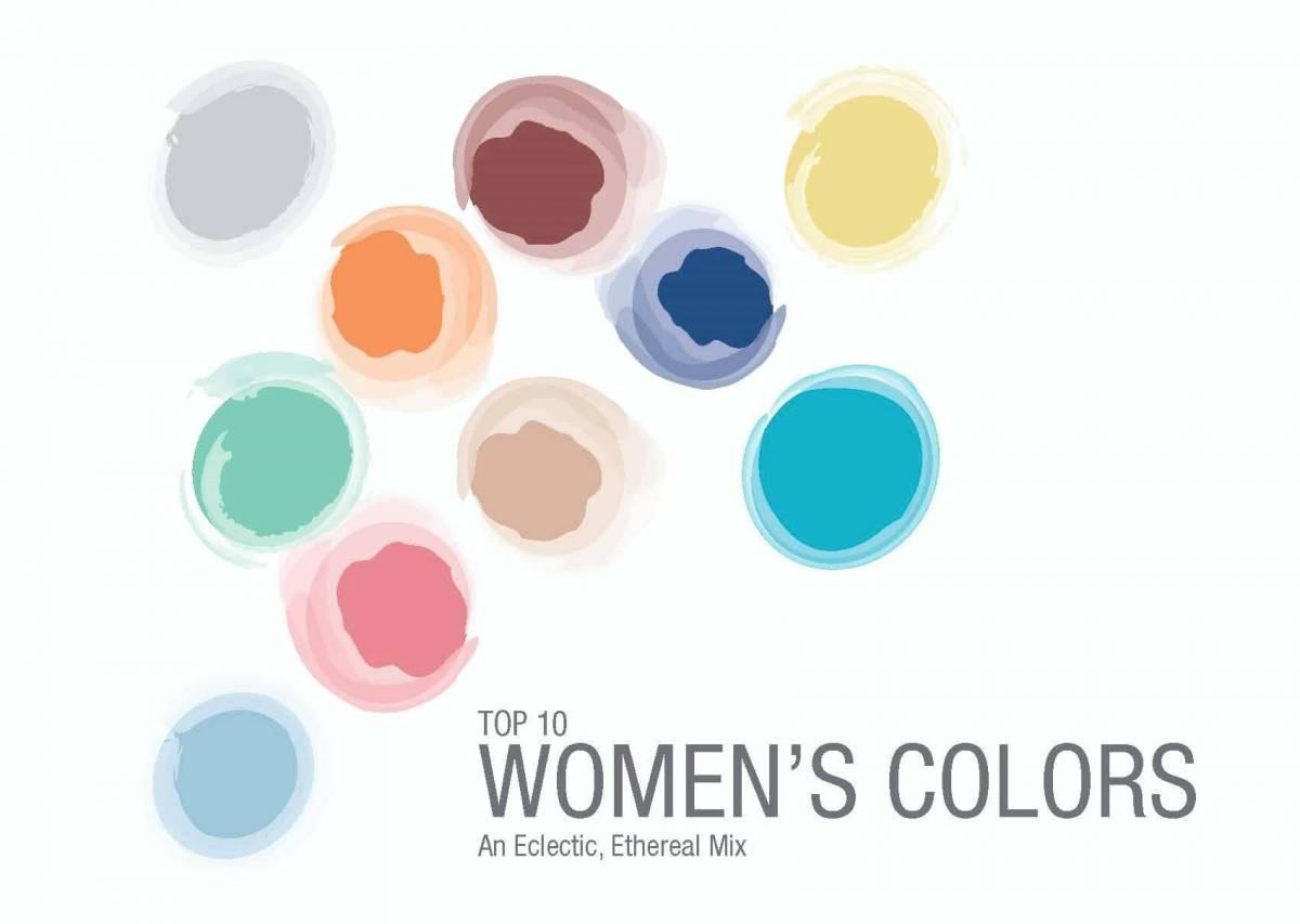 Top 10 Women's Colors Pantone 2015