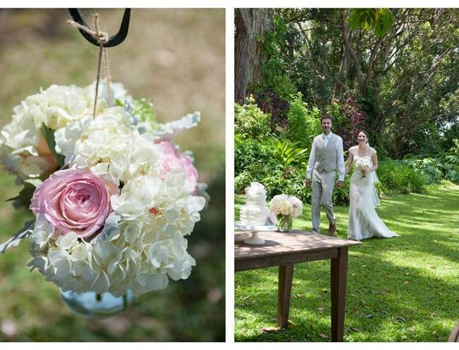 Pastel Oahu Destination Wedding {Rachel Robertson Photography} 15