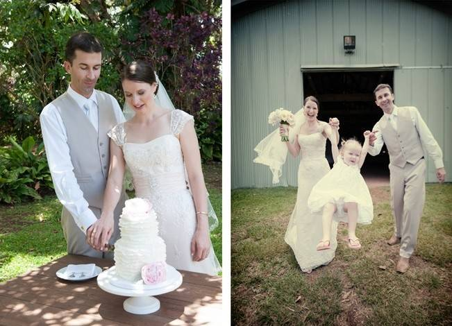 Pastel Oahu Destination Wedding {Rachel Robertson Photography} 19