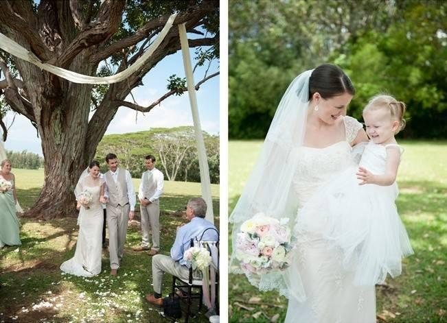 Pastel Oahu Destination Wedding {Rachel Robertson Photography} 7
