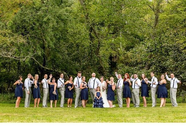 Rustic New Jersey Farm Wedding {Anastasia Romanova Photography} 23
