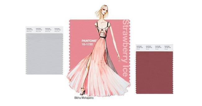 wedding palettes with pantone spring 2015 colors - Copy