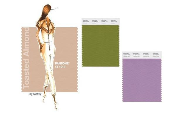 wedding palettes with pantone spring 2015 colors