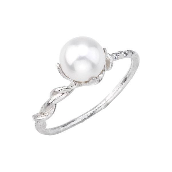 12 - Vine and Pearl Gold Ring $780 BMJ NY