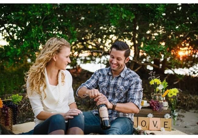 Boho Picnic Engagement Shoot {Ashlee Hamon Photography, Inc.} 12