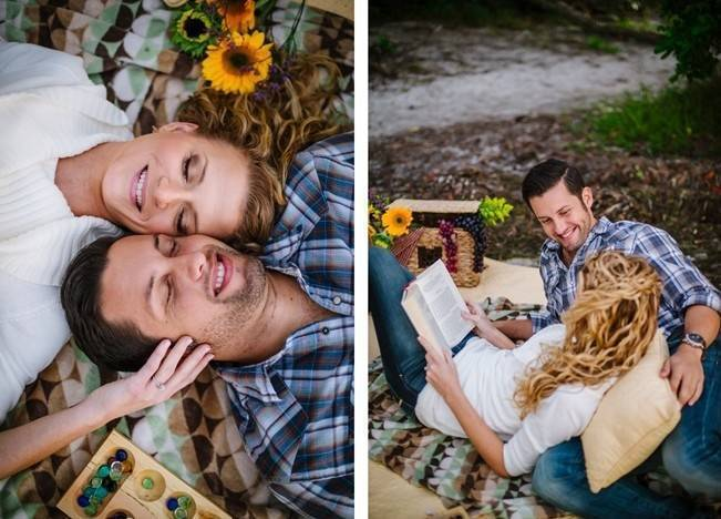Boho Picnic Engagement Shoot {Ashlee Hamon Photography, Inc.} 14