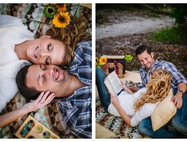 Boho Picnic Engagement Shoot {Ashlee Hamon Photography, Inc.} 14