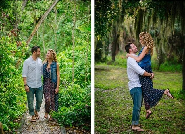 Boho Picnic Engagement Shoot {Ashlee Hamon Photography, Inc.} 2