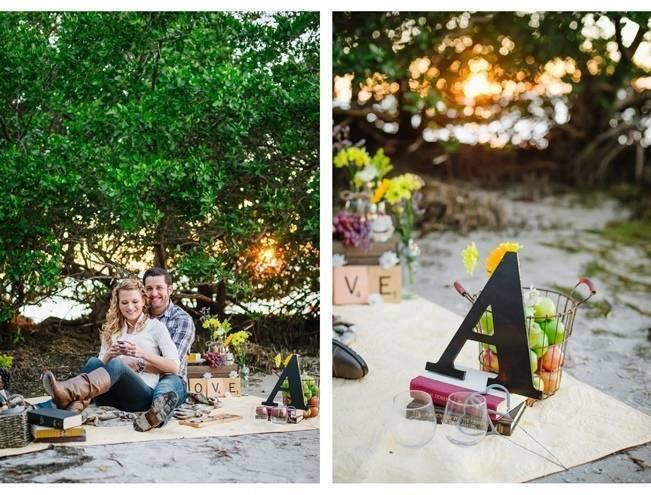 Boho Picnic Engagement Shoot {Ashlee Hamon Photography, Inc.} 9