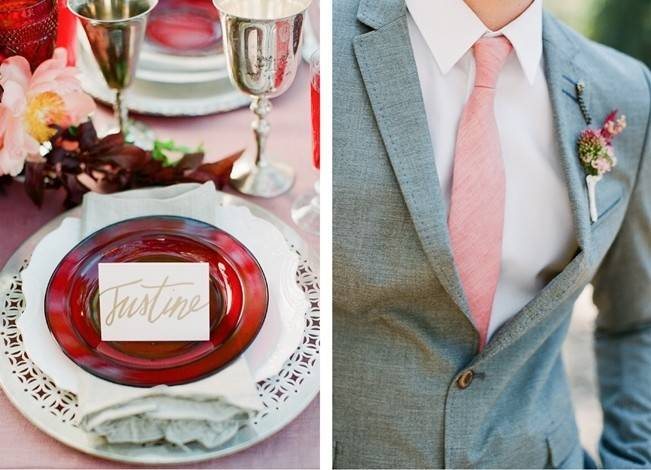 Elegant Red Alfresco Wedding Inspiration {Carmen Santorelli Photograhy} 2
