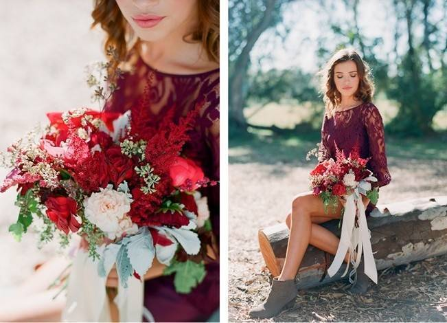 Elegant Red Alfresco Wedding Inspiration {Carmen Santorelli Photograhy} 4