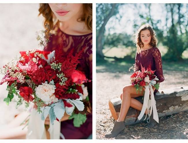 Elegant Red Alfresco Wedding Inspiration {Carmen Santorelli Photograhy} 4