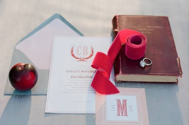 Elegant Red Alfresco Wedding Inspiration {Carmen Santorelli Photograhy} 5