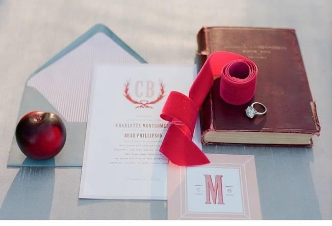 Elegant Red Alfresco Wedding Inspiration {Carmen Santorelli Photograhy} 5