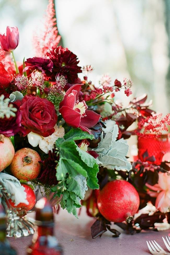 Elegant Red Alfresco Wedding Inspiration {Carmen Santorelli Photograhy} 6