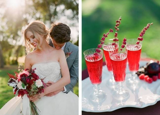 Elegant Red Alfresco Wedding Inspiration {Carmen Santorelli Photograhy} 8
